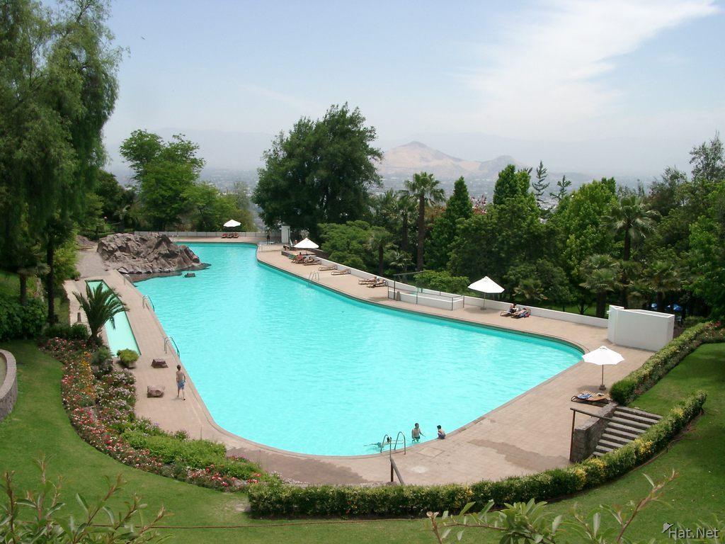 piscina tupahue parque metropolitano 100k photos