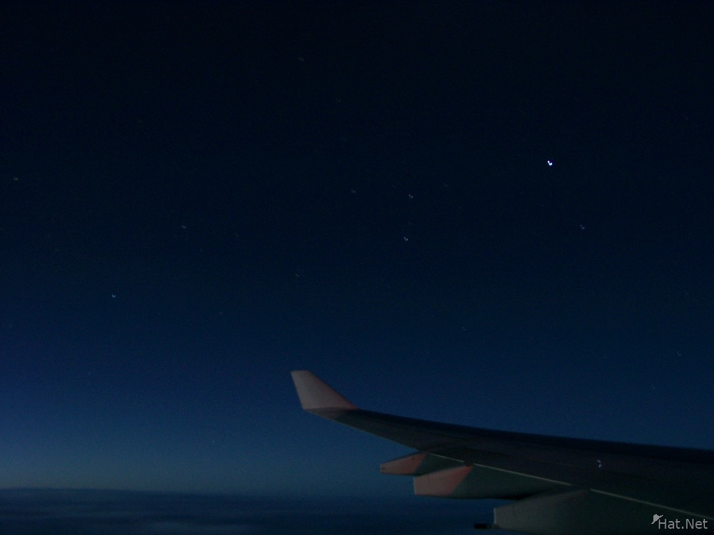 flying with the constellation