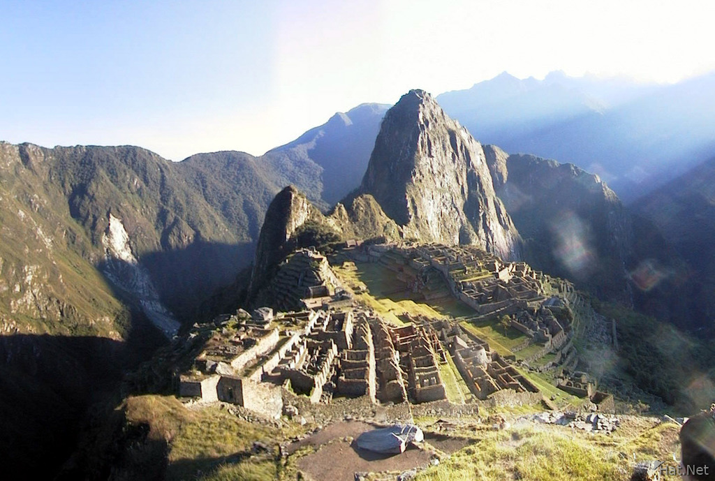 the full blown machu picchu