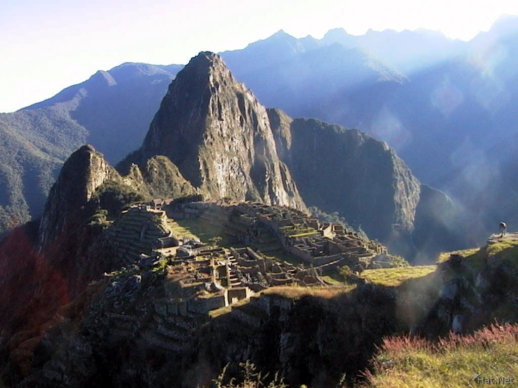 machu picchu under the sun